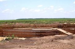 Fundatii siloz de cereale la Motatei-Calafat anul 2010